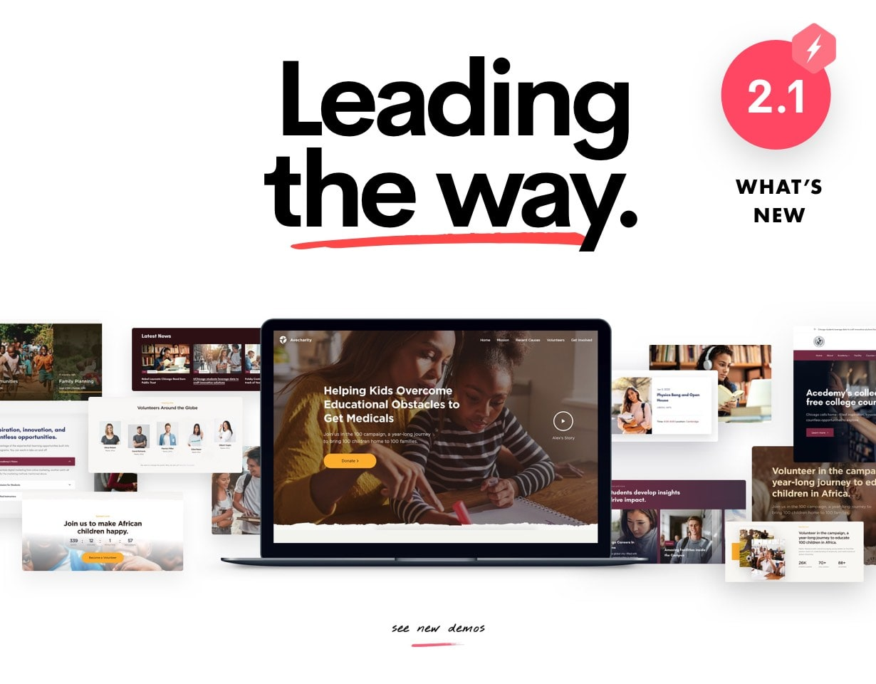 Ave - Responsive Multi-Purpose WordPress Theme - 7